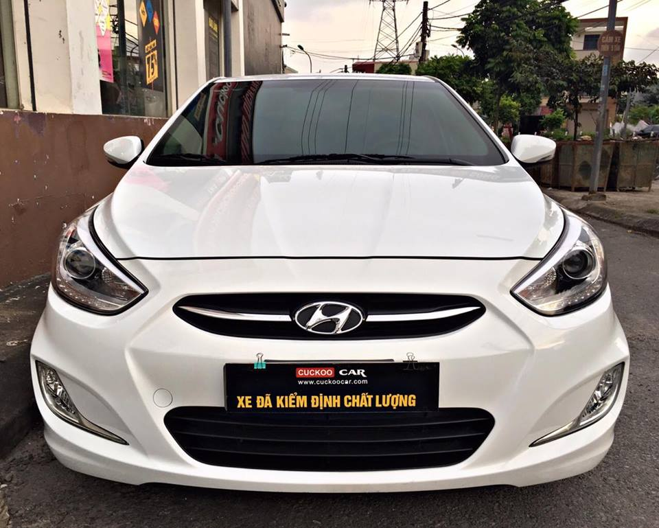 HYUNDAI ACCENT BLUE 2016 1.4AT