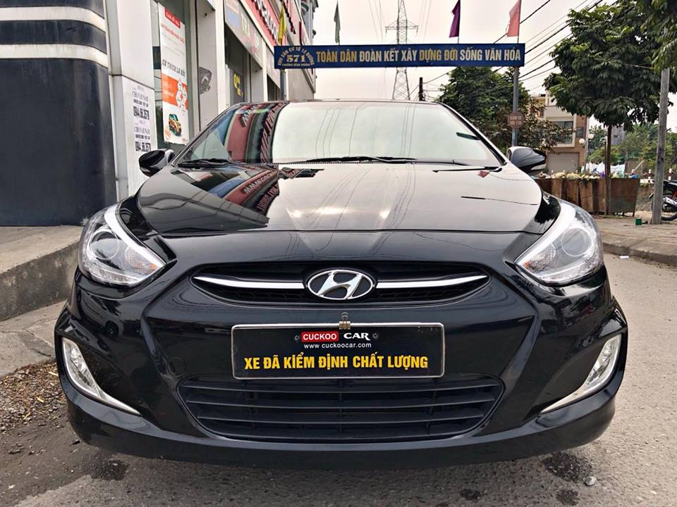 HYUNDAI ACCENT BLUE 2015 1.4AT